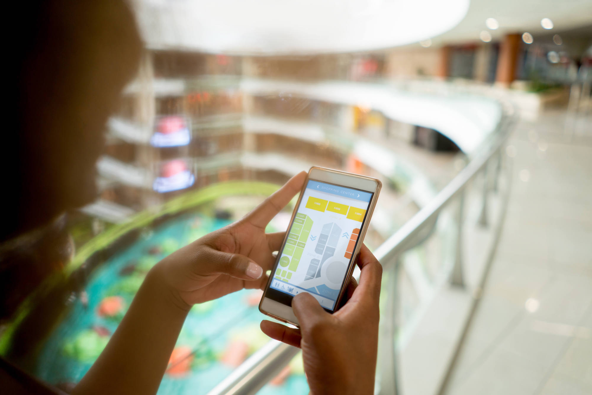 Staying Competitive by Making Malls Smarter