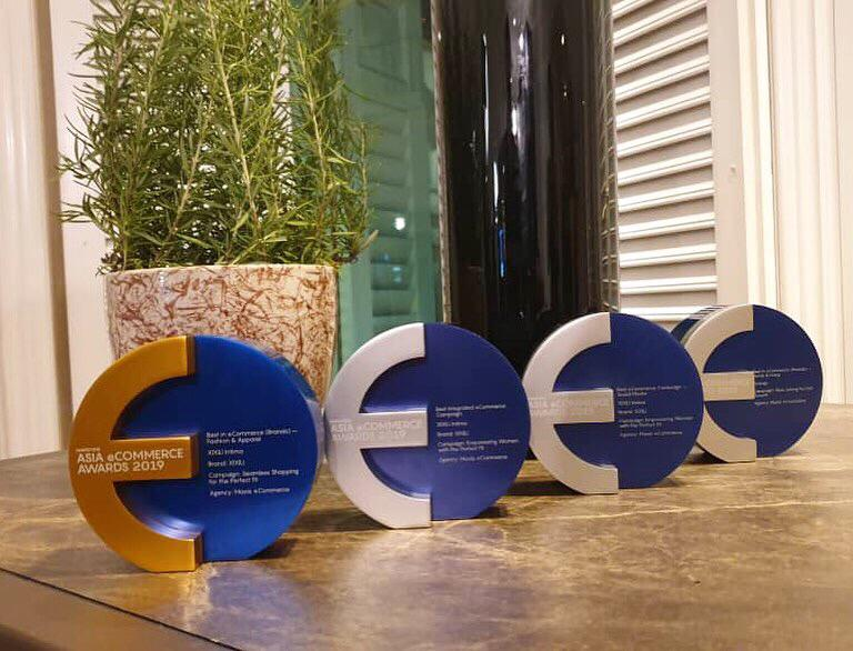 The Maxis eCommerce haul from the 2019 Asia eCommerce Awards